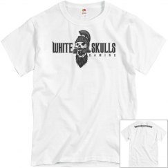 White Skulls Gaming Basic T-Shirt 2