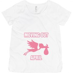 Moving out april