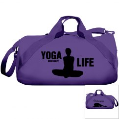 Yoga Life Poses Duffle Bag