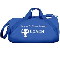 Duffell Bag - Ladies of Team Impact Coach