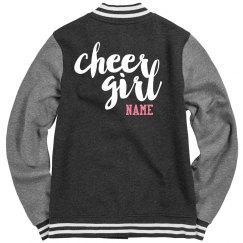 Custom Cheer Girl Jacket