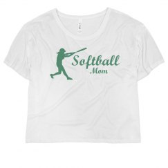 Neon Softball Mom Batter