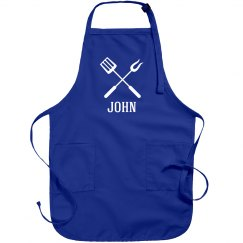 John personalized apron