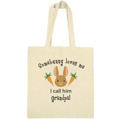 Easter Tote Bag grandpa