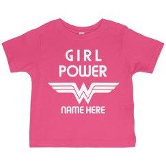 Custom Wonder Girl Power