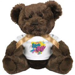 80's Retro Brown Bear