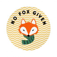 Cute Chevrons No Fox Given