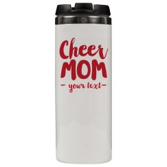 Cheer Mom Custom Tumbler