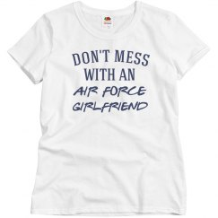 Don't mess with girlfriend