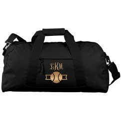 Tennis Monogram Metallic Duffel