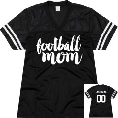 Football Mom Custom Back Name & No.