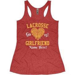 Lacrosse Girlfriend Custom Names & Numbers