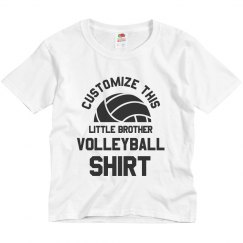 Custom Volleyball Little Brother