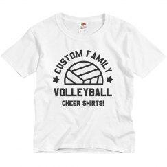 Custom Family Volleyball Cheer