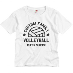Custom Family Volleyball Cheer