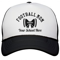 Custom Football Mom Cap