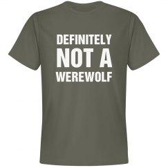 I Am Definitely Not A Werewolf