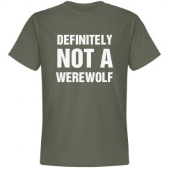 I Am Definitely Not A Werewolf