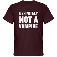 I Am Definitely Not A Vampire