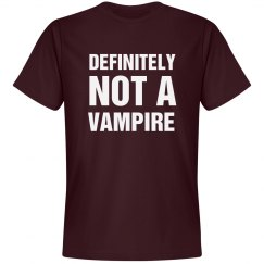 I Am Definitely Not A Vampire