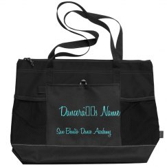 Personalized Zipper Dance Bag