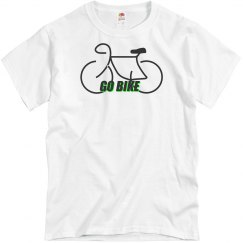 Go Bike -  Unisex Fruit of the Loom Cotton Tee