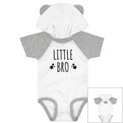 Custom Name Little Brother Hood Bodysuit
