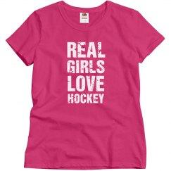 Real girls love hockey