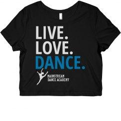 Live Love Dance Tee