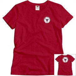Red Rock West Saloon Girls T