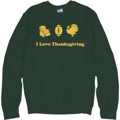 Dad Loves Thanksgiving