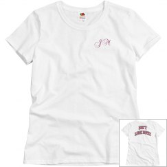 """Relaxed Fit """"Don't Look Down"""" Tee"""