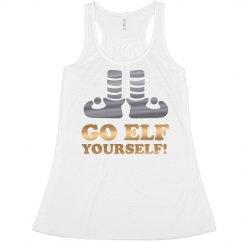Go Elf Yourself Metallic Christmas
