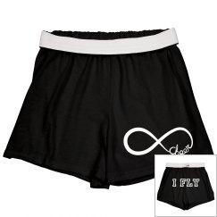 I Fly Cheer Shorts