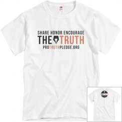Heather Grey Pro Truth Pledge Shirt
