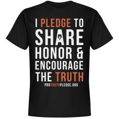 Pro Truth Pledge Shirt Black