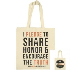 Pro Truth Pledge Tote Bag