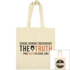 Share Honor Encourage The Truth Tote Bag