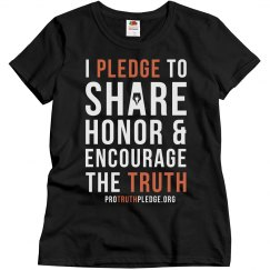 Women's Pro Truth Pledge Shirt
