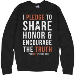 Share Honor Encourage The Truth Sweatshirt