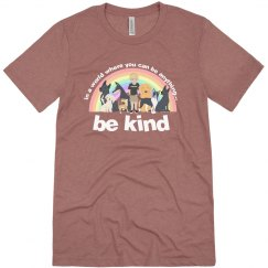 new be kind bella and canvas