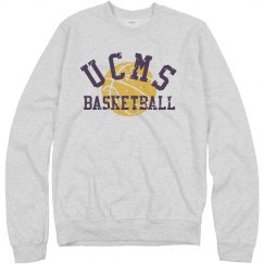 UCMS Basketball sweatshir
