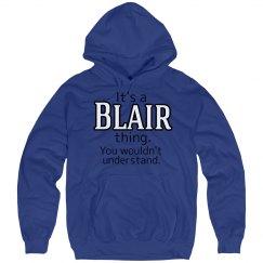Its a Blair thing