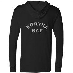 Koryna Ray Unisex Canvas Long Sleeve Jersey Hooded Tee
