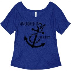 Archored in Christ shirt