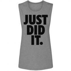 just did it fitness fashion womens sleeveless tee