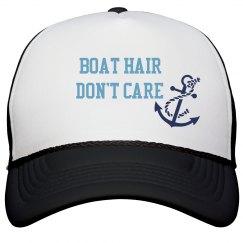 Boat Hair Truck Hat