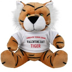 Create Your Own Valentine Tiger
