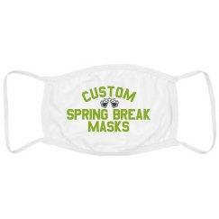 Custom Spring Break Face Mask