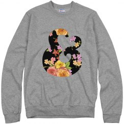 Floral Ampersand Chunky